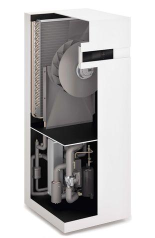 Luft-Wärmepumpe Vitocal 200-A - Wirkungsweise