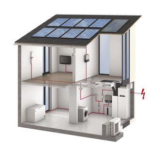 Solarmodule zur Gewinnung elektrischer Energie