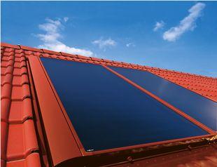 Solarkollektoren / Sonnenkollektoren zur Heizungsunterstützung